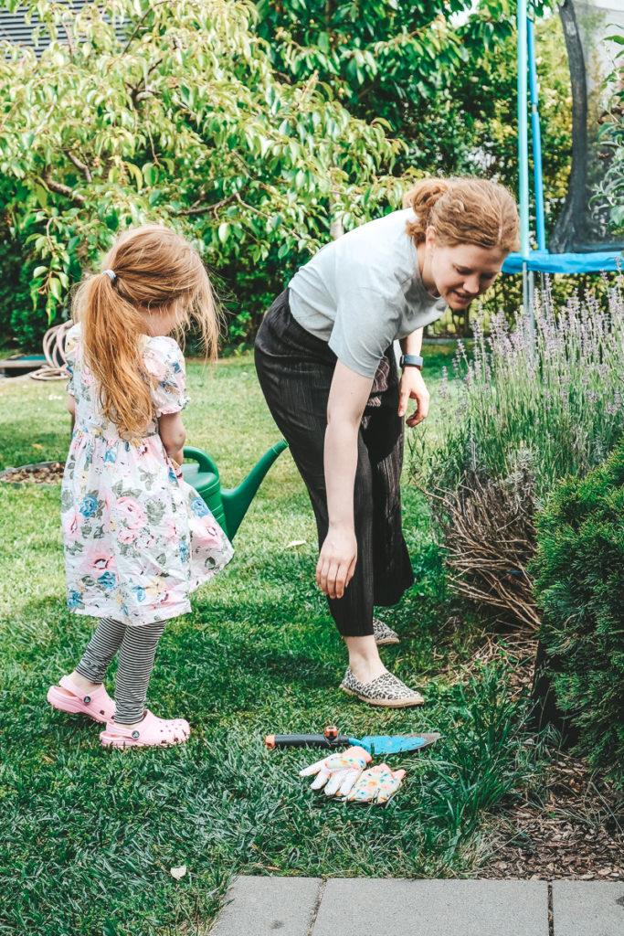 Mit Kindern gärtnern