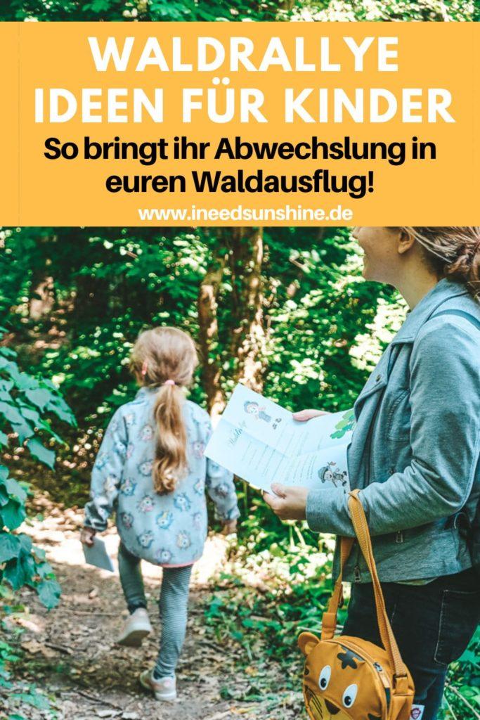 Waldrallye Ideen für Kinder