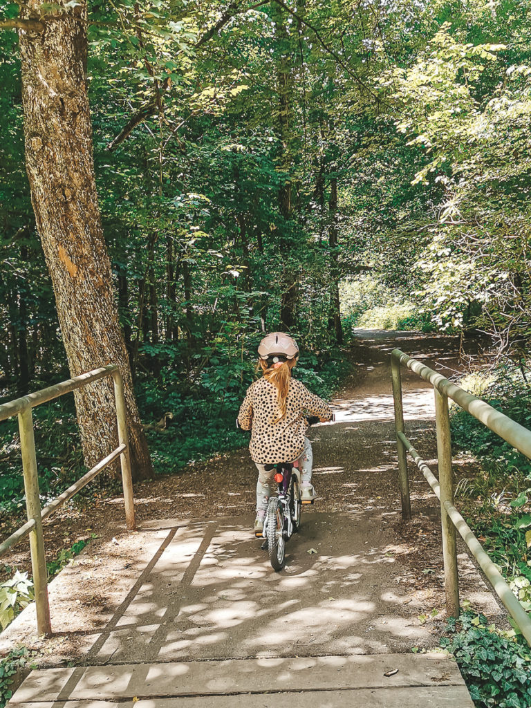 Kinder Fahrrad fahren lernen ohne Stützräder