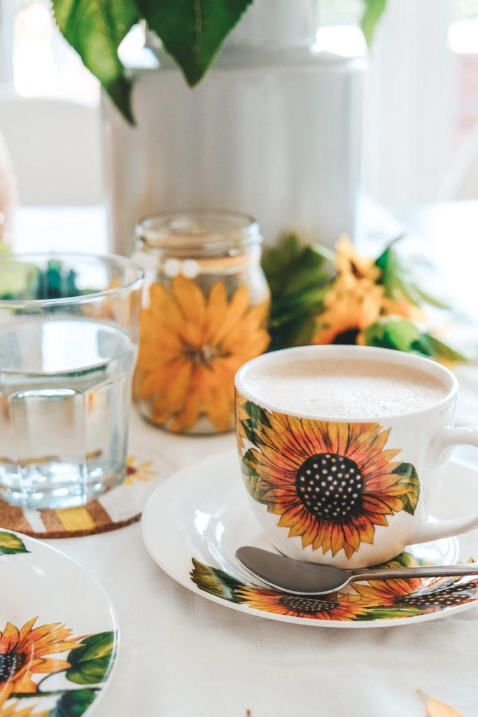 Sonnenblumen Geschirr Kaffeetasse von Weltbild