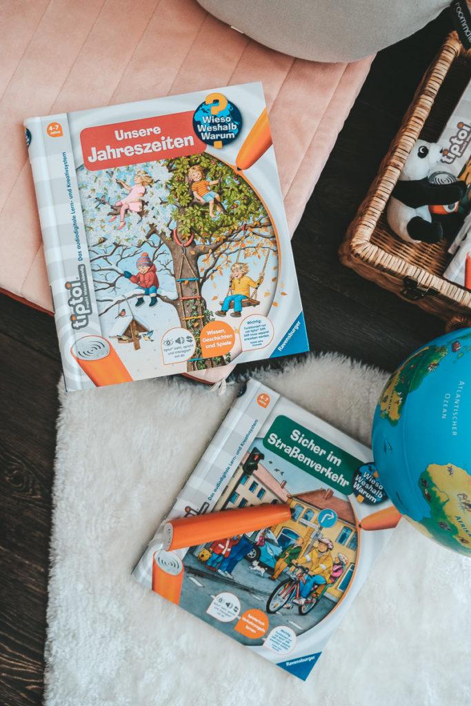tiptoi Bücher Empfehlung Straßenverkehr Jahreszeiten