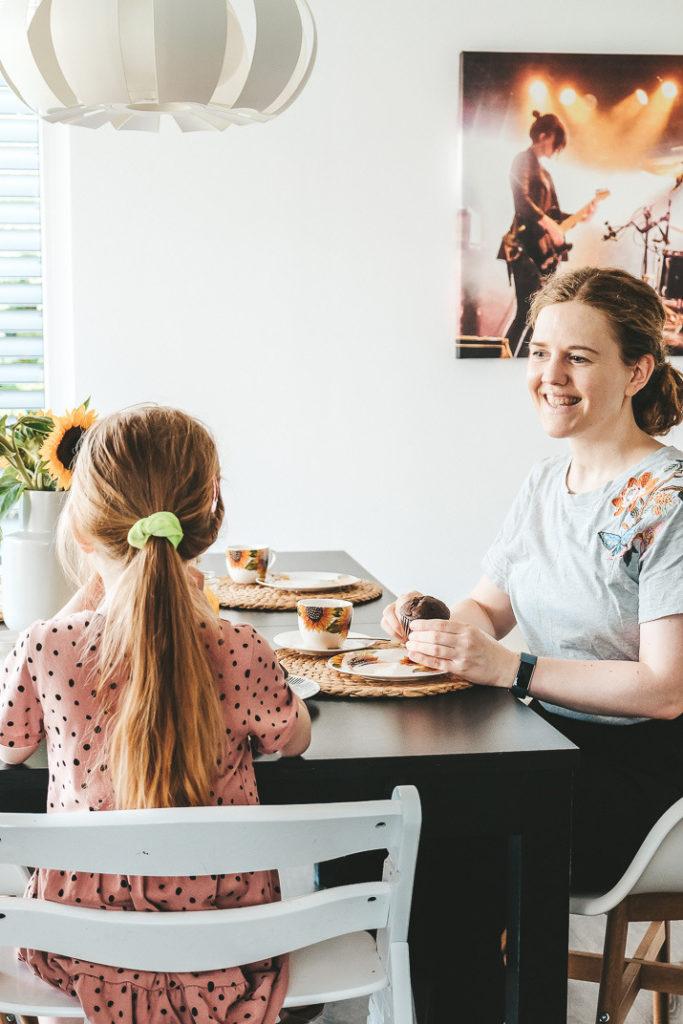 Tischdekoration basteln mit Kindern Tipps und Ideen
