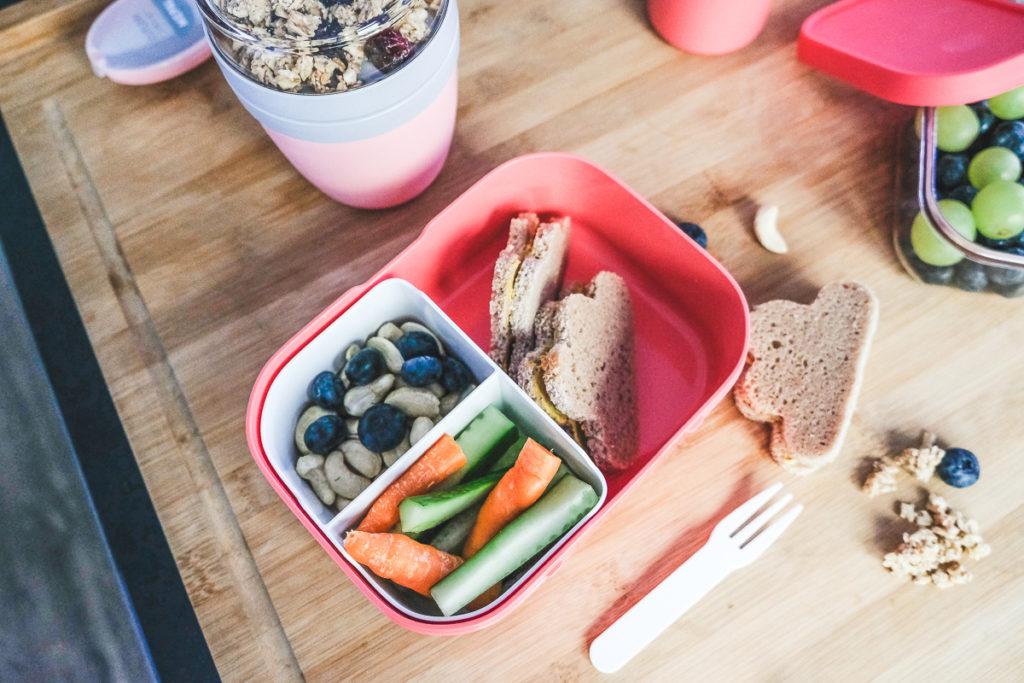 gesunde Brotdose Kindergarten Rezepte