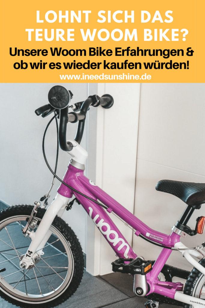 Woom Bike Erfahrungen Kinderfahrrad Test