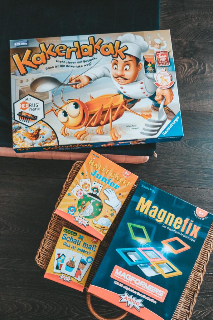 Kurze Gesellschaftsspiele für Kinder Empfehlungen