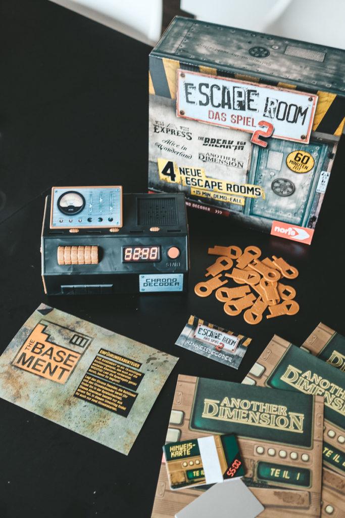 Escape Room Spiel von Noris Erfahrungen