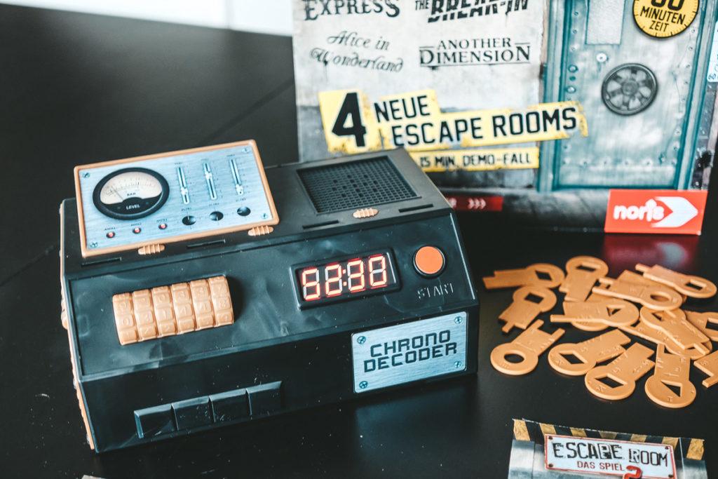 Escape Room Spiel zuhause Tipps Empfehlungen