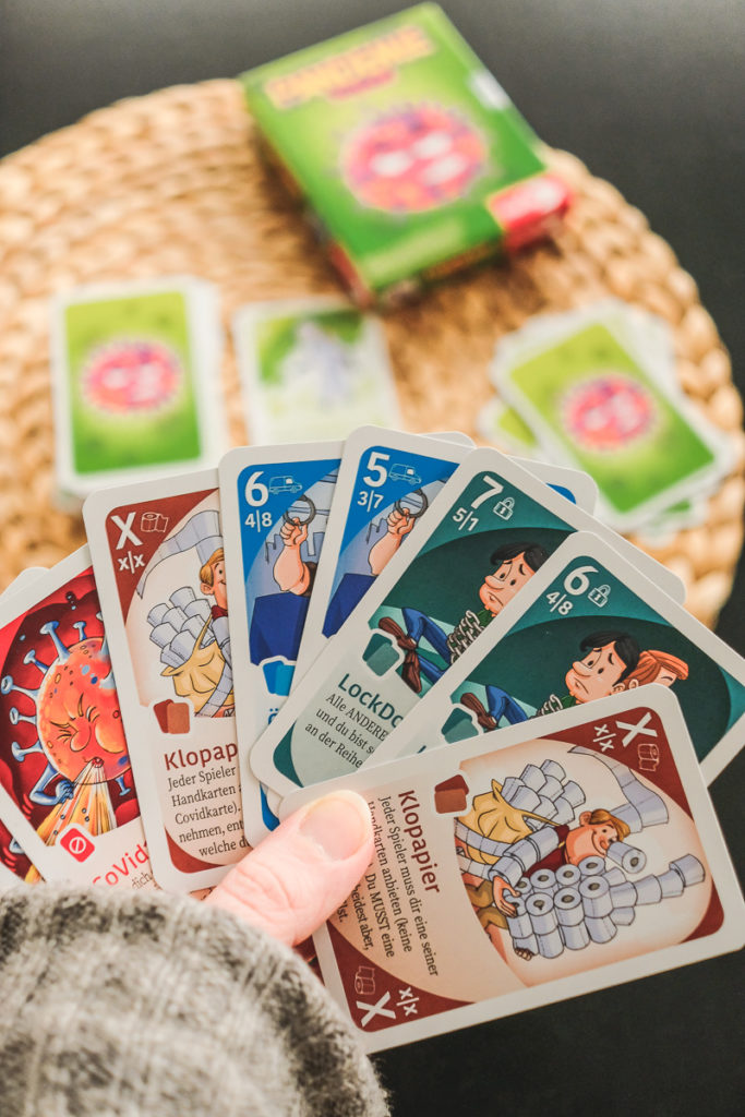 Pandemie Poker Noris Kartenspiel für Kinder ab 8 Jahre