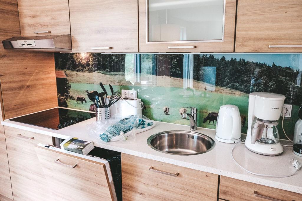 Center Park Allgäu Premium Ferienhaus Küche Erfahrungen