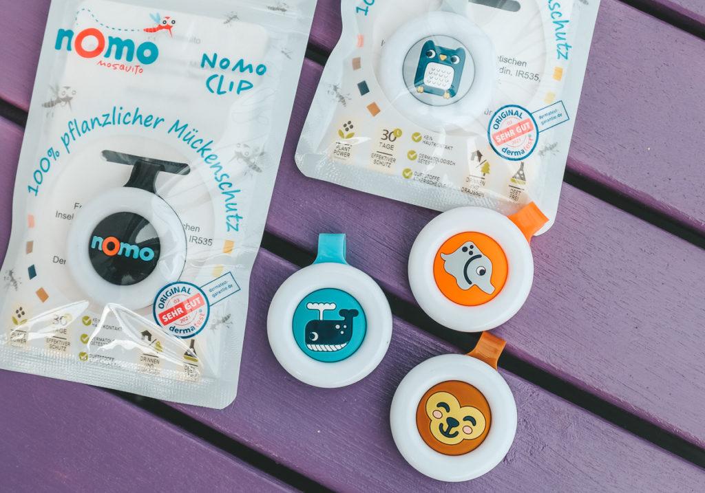 Nomo Mosquito Test Mückenschutz Kinder Babys